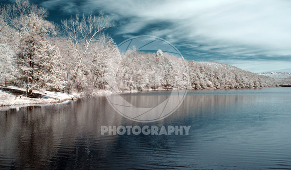 Lake Leatherwood, Infrared